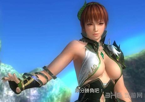 死或生5:最后一战Kasumi绿叶服装MOD截图0