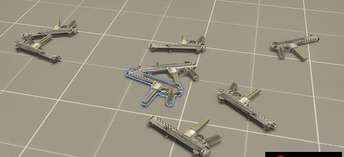 求生之路2瓦尔特MPL冲锋枪MOD截图3