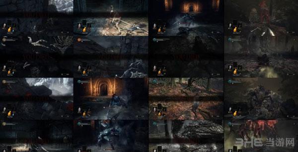 黑暗之魂3死亡合集1