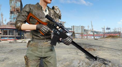 辐射4前苏联VSS特种狙击步枪截图0