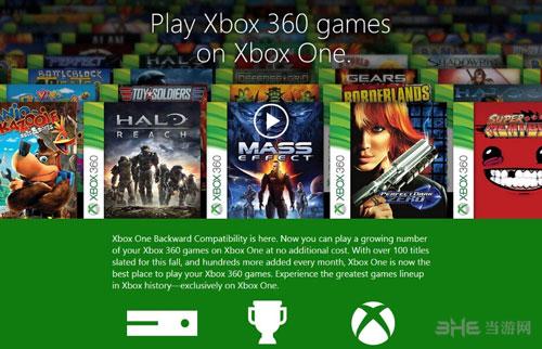 Xbox One向下兼容的游戏截图1