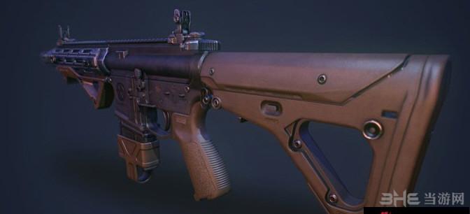 求生之路2沙漠版RU556突击步枪MOD截图0