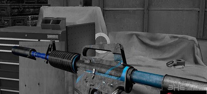 求生之路2 CS:GO M4A1-S蓝力突击步枪MOD截图3