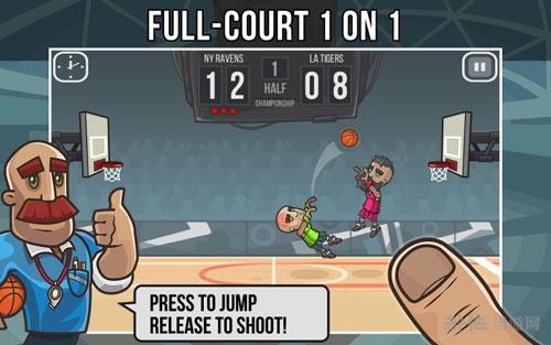 篮球战役电脑版截图0