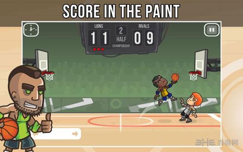 篮球战役电脑版截图2