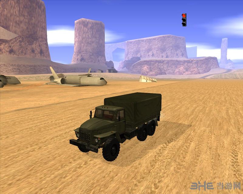 侠盗猎车手圣安地列斯军用运兵卡车MOD截图1