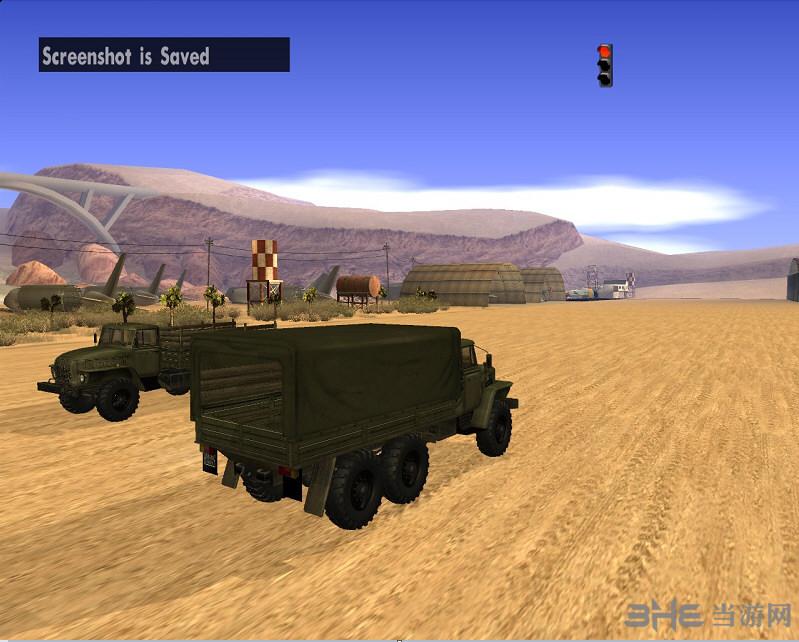 侠盗猎车手圣安地列斯军用运兵卡车MOD截图2