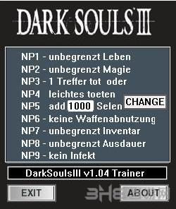 黑暗之魂3九项修改器截图0
