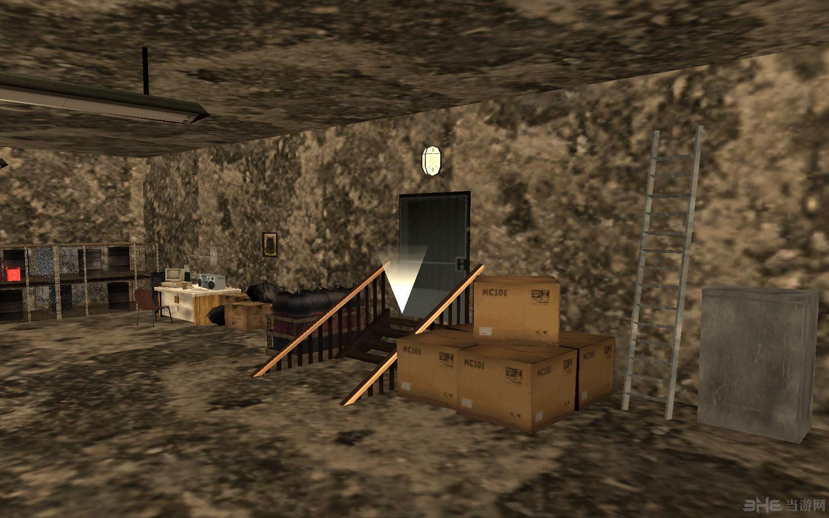 侠盗猎车手圣安地列斯地下室地图MOD截图1