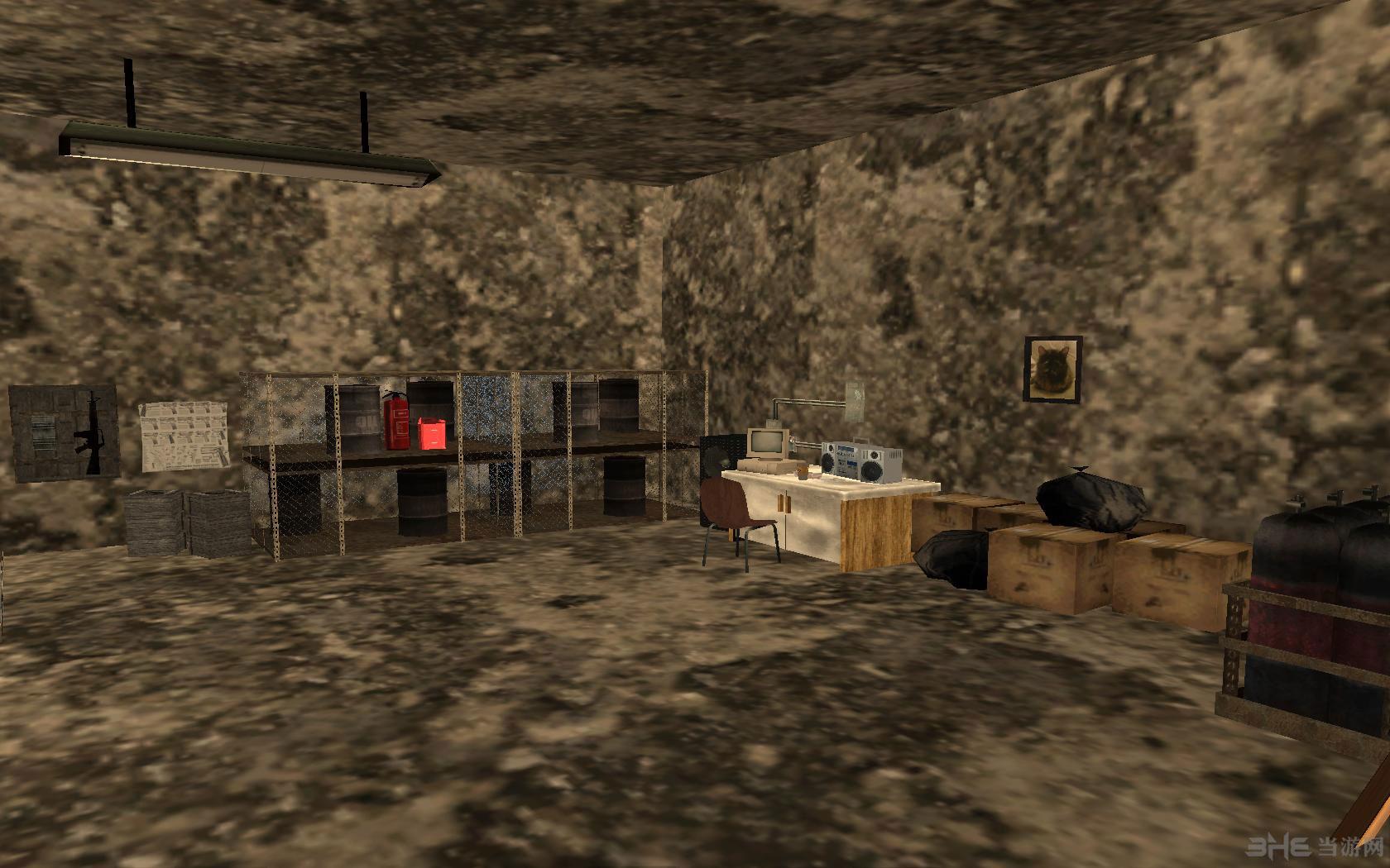 侠盗猎车手圣安地列斯地下室地图MOD截图2