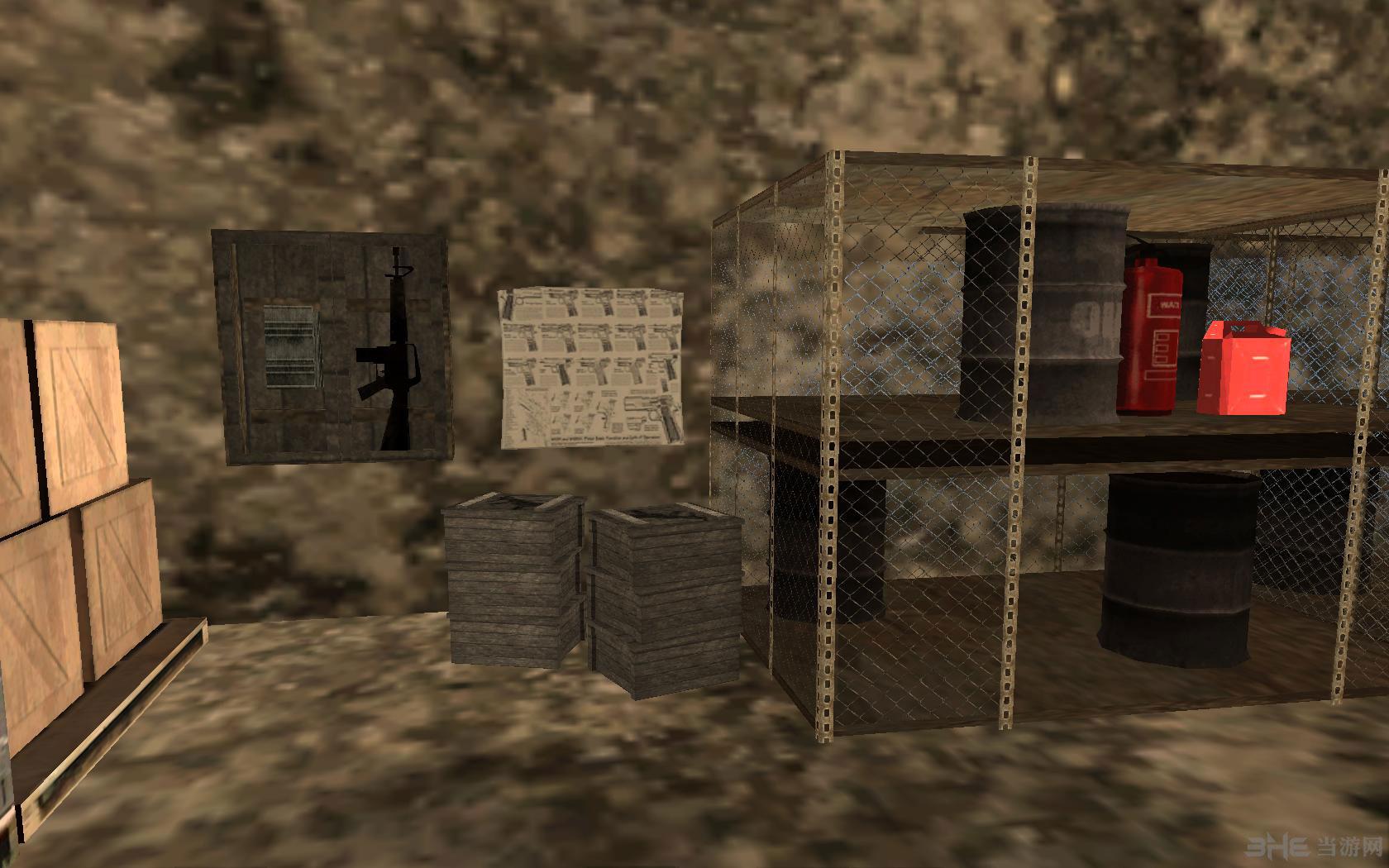侠盗猎车手圣安地列斯地下室地图MOD截图3