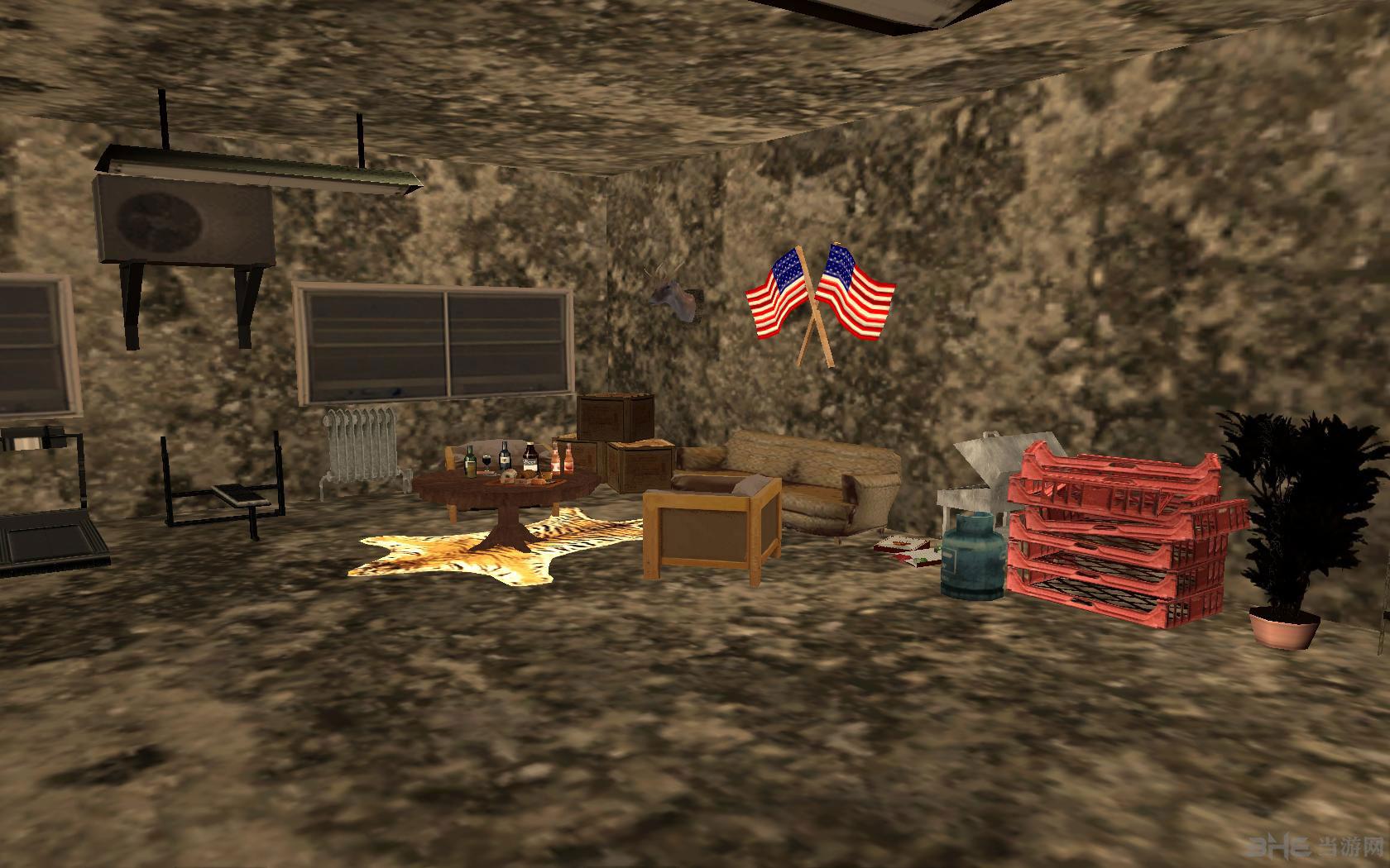 侠盗猎车手圣安地列斯地下室地图MOD截图4