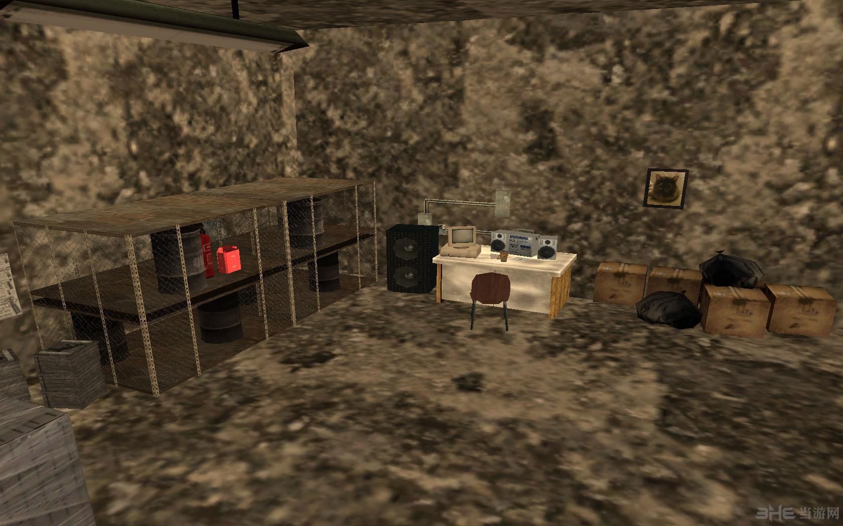侠盗猎车手圣安地列斯地下室地图MOD截图7