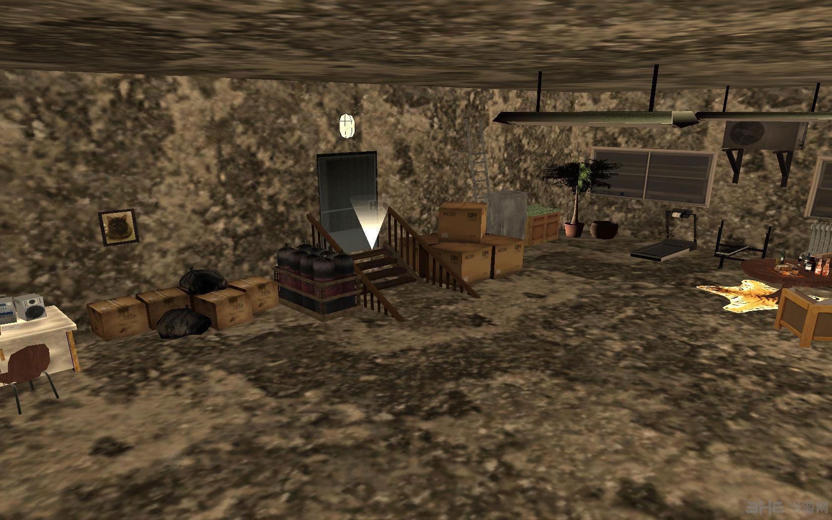 侠盗猎车手圣安地列斯地下室地图MOD截图8