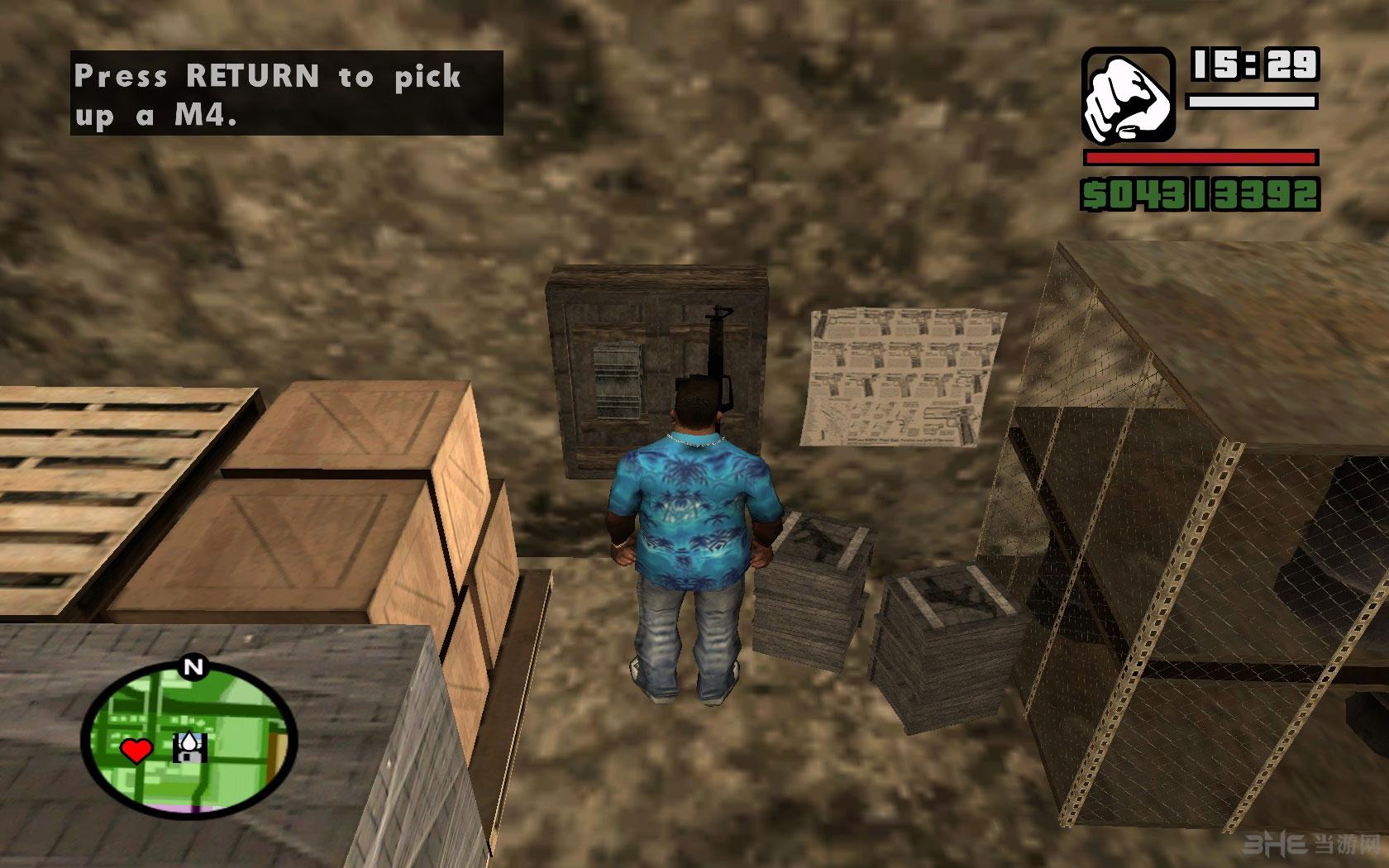 侠盗猎车手圣安地列斯地下室地图MOD截图11