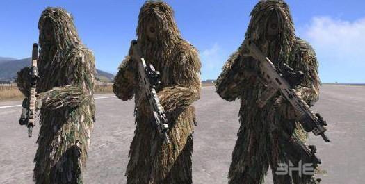 武装突袭3狙击手的伪装服MOD截图0