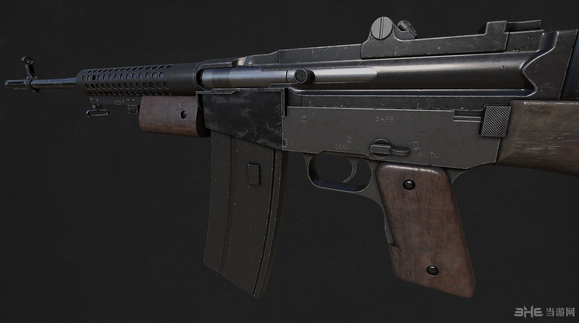 辐射4 M1941约翰逊突击步枪MOD截图1