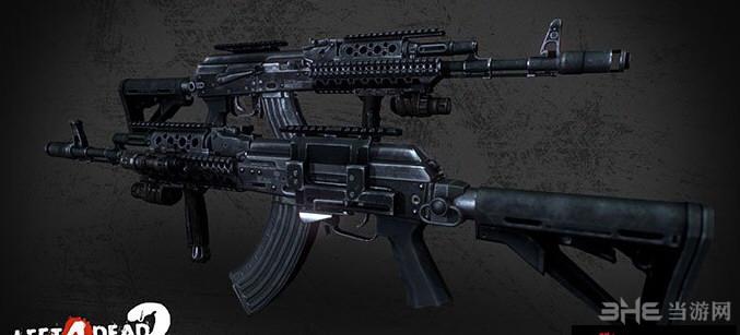 求生之路2荣誉勋章战士AK103突击步枪MOD截图2