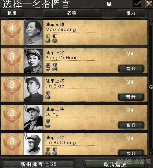 钢铁雄心4军事内阁+将领头像MOD截图0