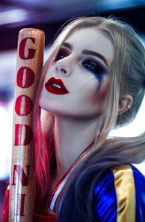 小丑女哈利奎恩神级cos图欣赏 狼狈也惊艳