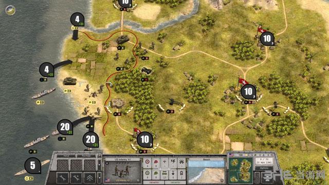 战斗命令:第二次世界大战截图0