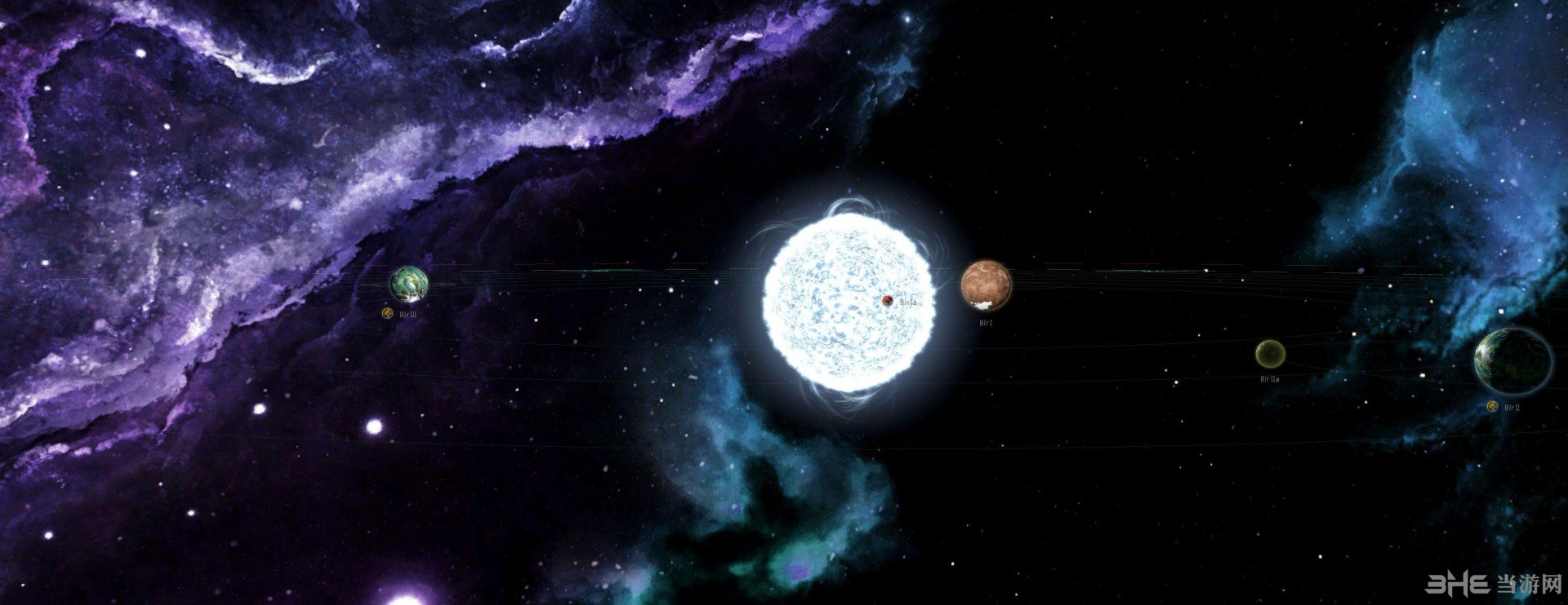群星工作坊五星好评的美丽宇宙背景图MOD截图2