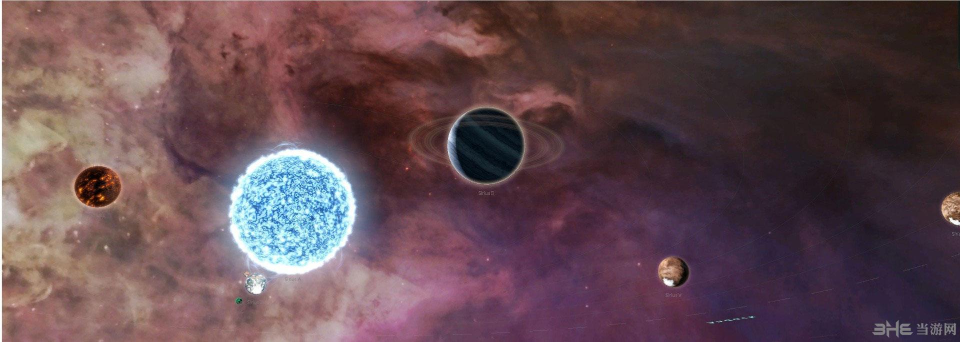 群星工作坊五星好评的美丽宇宙背景图MOD截图1