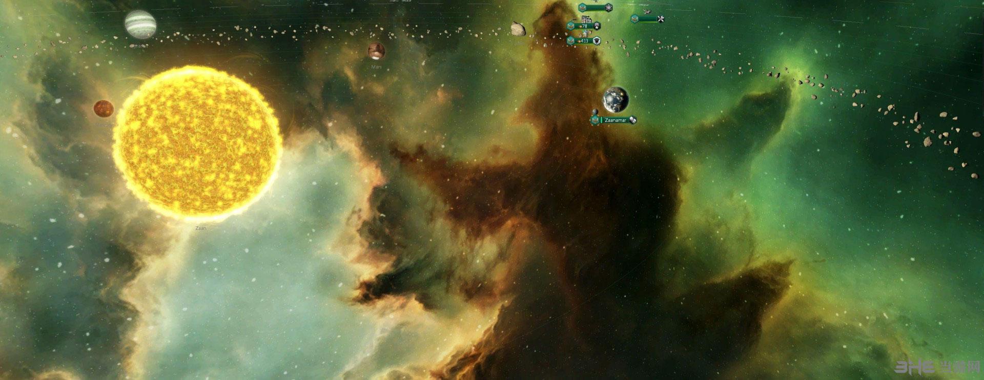 群星工作坊五星好评的美丽宇宙背景图MOD截图0