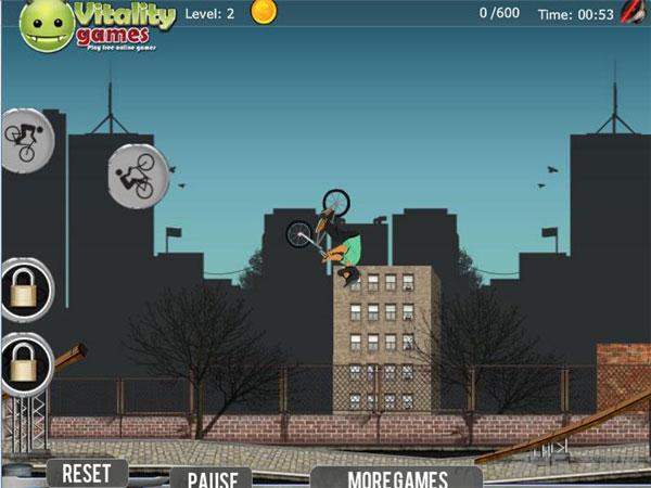 职业特技自行车截图3