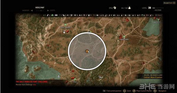 巫师3:狂猎每日猎杀任务赚钱练技术MOD截图1