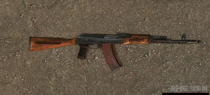求生之路2 AK74步枪MOD截图1