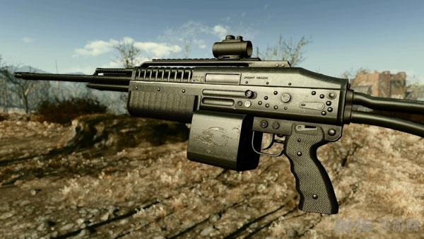 辐射4美洲豹MSX200轻机枪MOD截图2