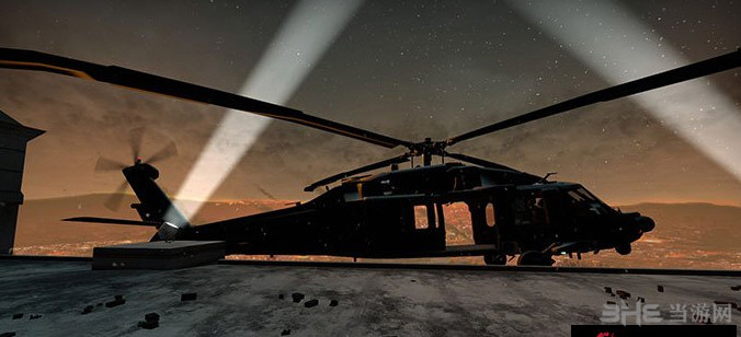 求生之路2 UH-60黑鹰直升机MOD截图0