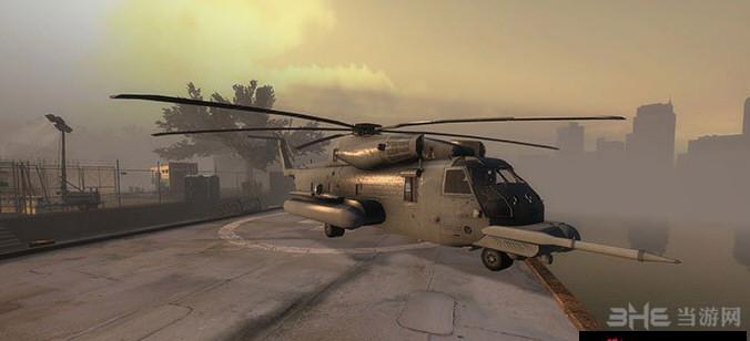 求生之路2铺路鹰MH-53直升机MOD截图3