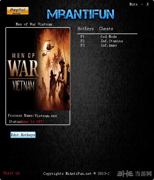 战争之人:越南六项修改器截图0