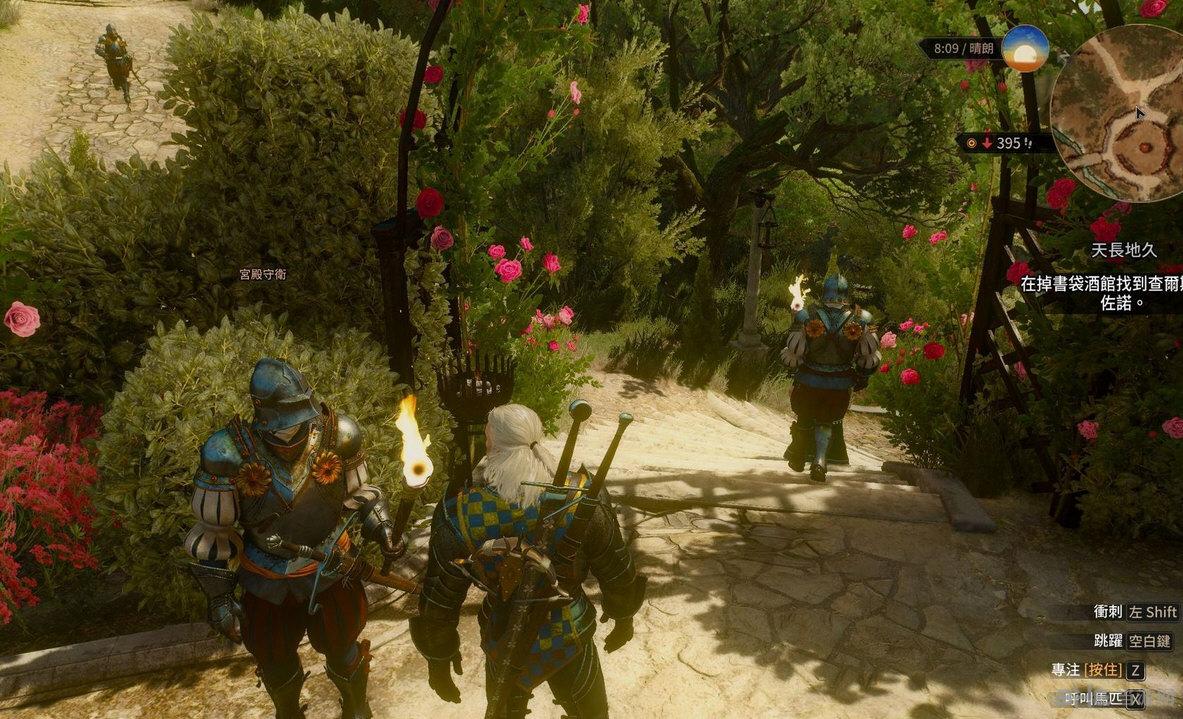巫师3:狂猎NPC剑鞘恢复MOD截图0
