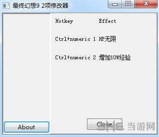 最终幻想9两项修改器截图0