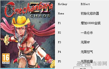 御姐玫瑰Z2:混沌五项修改器截图0