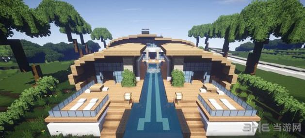 我的世界海濱別墅|我的世界超華麗的現代海濱別墅