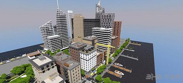 我的世界新工艺城市截图2