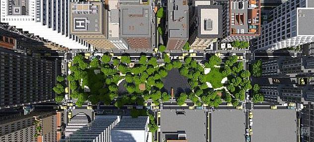 我的世界新工艺城市截图3