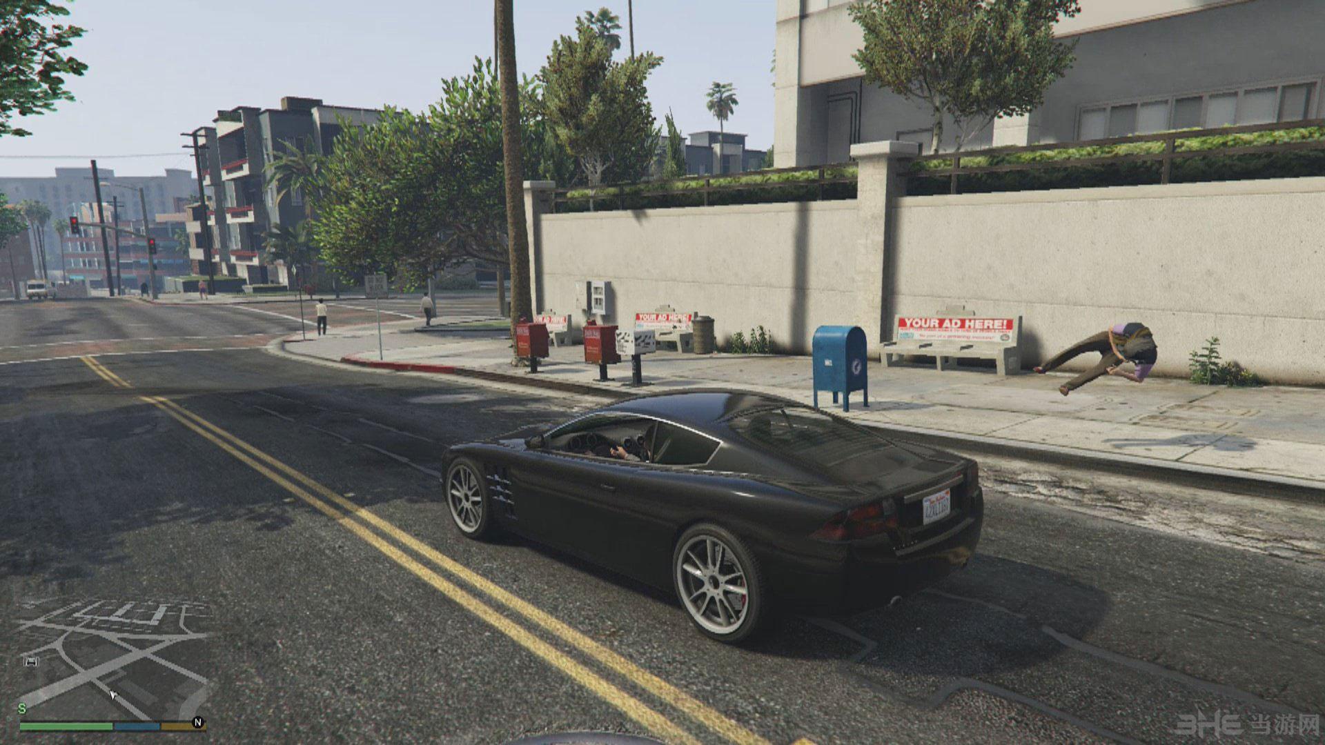 侠盗猎车手5弹出乘客MOD截图3