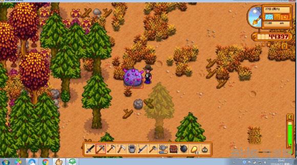 星露谷物语沙漠矿洞如何一次性取得宝剑和铱矿道具攻略详解1
