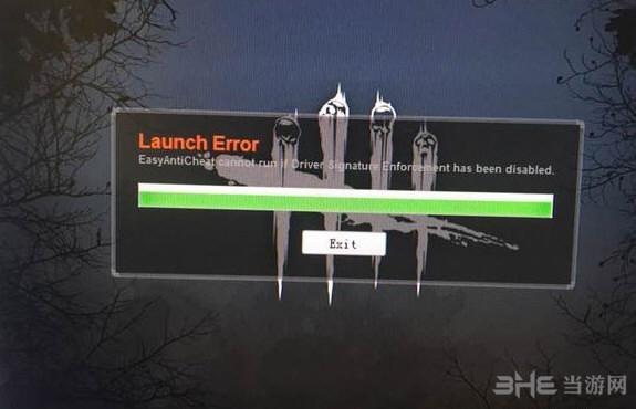 黎明杀机卡在Launch Error界面无法进入游戏如何解决1