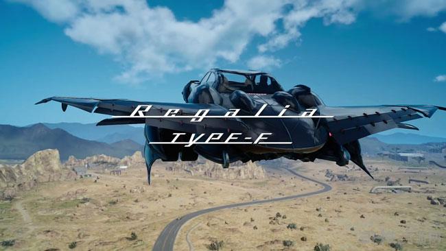 最终幻想15飞车截图1