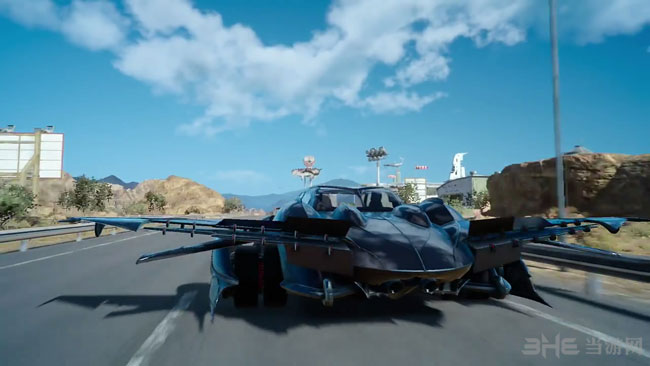 最终幻想15飞车截图3