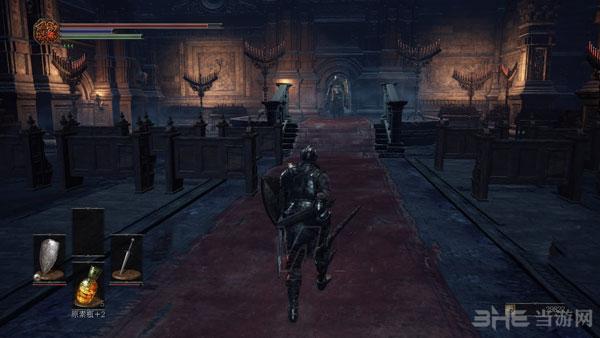 黑暗之魂3如何过幽邃教堂盾锤骑士1
