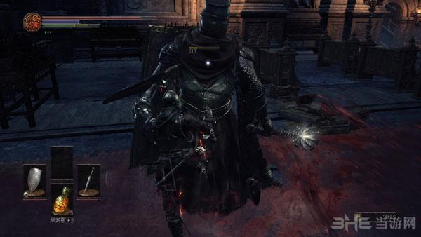 黑暗之魂3如何过幽邃教堂盾锤骑士2