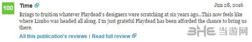 Inside游戏评分2