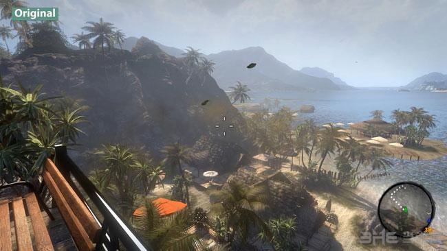 死亡岛终极版对比截图1